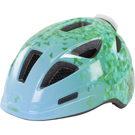 Cube Pro Casco Niños, green triangle
